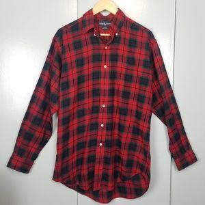 Ralph Lauren red gingham shirt size S -C7
